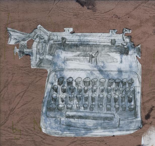 My typewriter adjusted saturation