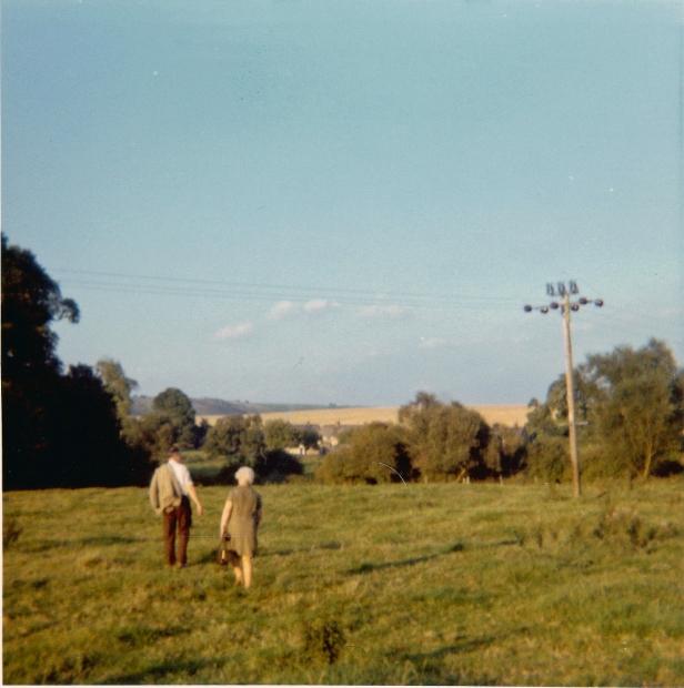 Mum and Dad at Alton Priors Summer 1971
